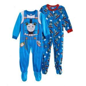 Thomas the Train 2-Pack Fleece Pajama Sleepers 2T
